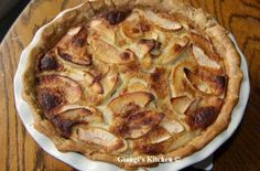 Giangi's Apple Pie | Apple pie is all I could think of. The air is nice and crisp early in the morning and late in the evening. #Pies #Tarts #Flans #Pastries