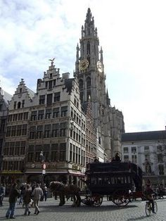 The Main Market Square of Antwerp travel-and-places