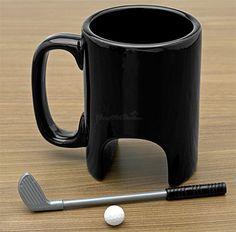 Taza golfista