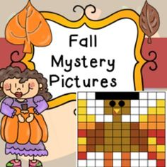 Fall / Autumn Mystery Pictures Coloring by Number ActivityA fun activity where students have to follow instructions at the bottom of the page to fill numbers in different colors to make a picture!!Great for early finishers, time fillers etc.This includes 11 different pictures.