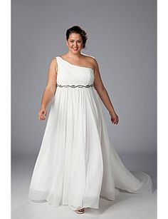 informal wedding dresses plus size