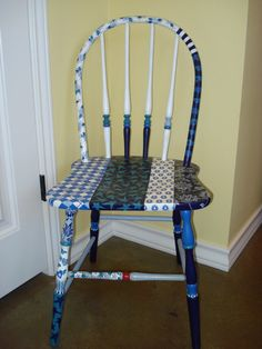 Blue Willow Chair