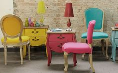 As cores estão por toda parte, use na decoração!