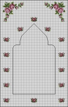 Seccade Modelleri - - Source by seccade Russian Cross Stitch, Cross Stitch Rose, Cross Stitch Flowers, Cross Stitching, Cross Stitch Embroidery, Embroidery Patterns, Silk Ribbon Embroidery, Hand Embroidery, Cross Stitch Designs