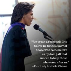 Very true! Live up to the legacy of those who came before you by doing everything that you can to help those who follow. Be a #mentor.