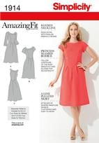 Misses' & Plus Size Amazing Fit Dresses