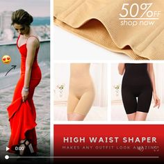 Find a new, brilliant shapewear item that will turn your look into any outfit. This shapewear will quickly become your favorite companion for controlling your Waist Training Corset, Special Dresses, Plus Size Maxi Dresses, Shapewear, Cute Outfits, Fashion Outfits, High Waist, How To Wear, Inventions
