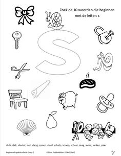 Zoek de juiste plaatjes bij de klank 13 Grade R Worksheets, Kindergarten Math Worksheets, Beginning Sounds Worksheets, Kids Education, Phonics, Homeschool, Letters, Second Best, Crowns