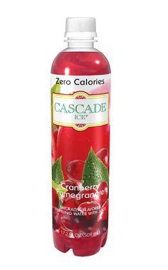 Zero-calorie Cranberry Pomegranate Sparkling Water