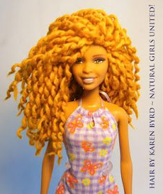 I never thought I'd live to see this! Natural Hair Inspired Dolls - New! Barbie with locs