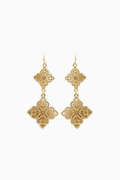 Charitina Earrings / ShopSosie #shopsosie #sosie