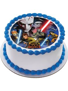 Star Wars Rebels birthday cake Walmart Birthday cakes and