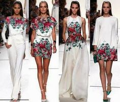 Lucy May's Fashion Blog: Great Flower Design. Hot or Not ???