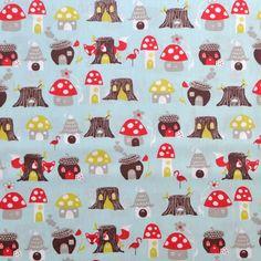 Elvendale - Fox Hollow - Organic Designer Cotton - Monaluna Fabrics
