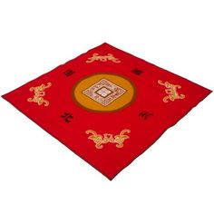 Mahjong Red Table Cover $29.99
