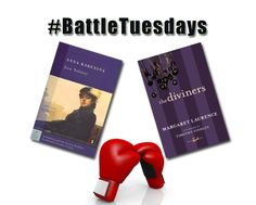 """Jan 6 2015 - On #BattleTuesday two classics battle it out.   In one corner: """"The Diviners"""" a powerful story of an independent woman who refuses to abandon her search for love.   On the other corner: """"Anna Karenina"""" a complex exploration of passionate love and infidelity.  Who will be victorious?"""
