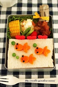 Goldfish sandwich
