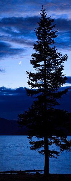 Turquoise Lake Twilight