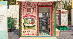 Indian truck art on mobile restroomArt and design inspiration from around the world – CreativeRoots