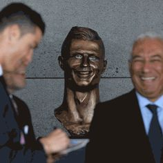New party member! Tags: ronaldo statue percolate galactic bust bust of ronaldo