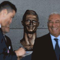 New party member! Tags: ronaldo statue percolate galactic bust bust of ronaldo