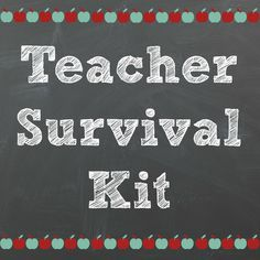 Back to School Teacher Supply Kit