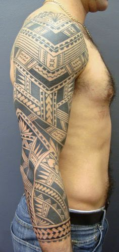 Pacific Islander Tattoo