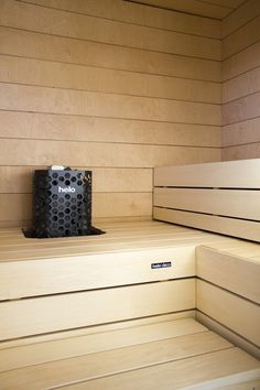 Sauna Steam Room, Sauna Room, Bathroom Shelves, Bathroom Organization, Sauna Design, Finnish Sauna, Spa Rooms, Dream Bathrooms, Lund