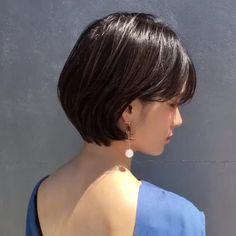 Thin Hair Cuts, Cut My Hair, Medium Hair Cuts, Short Hair Cuts For Women, Medium Hair Styles, Curly Hair Styles, Ulzzang Short Hair, Asian Short Hair, Short Hair Syles
