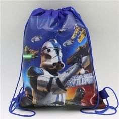 Cartoon avenger/minions/sofia/star wars non-woven fabric backpack school bag for kids