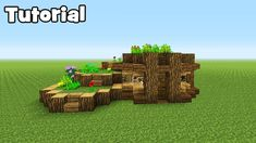Minecraft Tutorial: How To Make A Starter Eco Survival House - YouTube #Survival