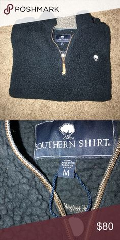 ❄️Southern Shirt Company SO SOFT Pull Over❄️ This sweatshirt / pull over is SO comfortable and warm and I wouldn't be giving it up if I hadn't just gotten another!! Seriously feels like a sheep and is so cute paired with leggings and boots!! Make an offer :) perfect condition and smoke free home. southern shirt company Tops Sweatshirts & Hoodies