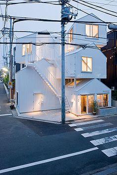 Tokyo Apartments - Tokyo - Japan by Sou Fujimoto Architects. Photography Iwan Baan.