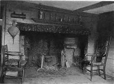 old farmhouse fireplace