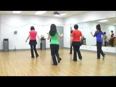 ▶ That Man - Line Dance (Dance & Teach in English & 中文) - YouTube