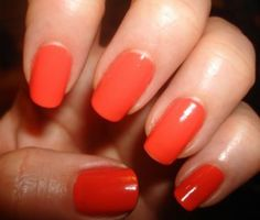 OPI Hot & Spicy Nails