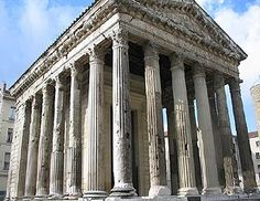 The Augustus and Livia Temple is one of several well-preserved Roman ruins in Vienne.