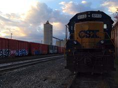 CSX engine 6113 Kingsport TN 10/25/14