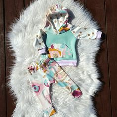 Check out this item in my Etsy shop https://www.etsy.com/listing/244812375/baby-girl-hoodie-and-leggings-set-modern