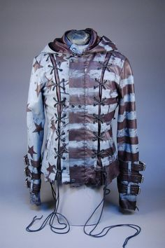 Junker Designs Men's Fabio Chainsaw Leather Jacket