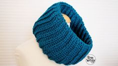 Teje un cuello para hombre o mujer-Soy Woolly Soy Woolly, Crochet Men, Couture, Cowl, Crochet Patterns, Knitting, Accessories, Unisex, Sharpies