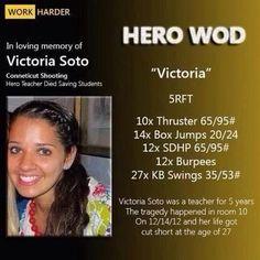 Victoria Hero WOD Doing this one tomorrow!