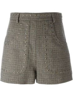 Shop Red Valentino studded tweed shorts in Russo Capri from the world's best independent boutiques at farfetch.com. Shop 400 boutiques at one address.