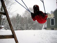 Swinging in the Snow
