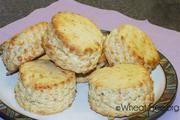 Wheat & gluten free Cheese Scones recipe