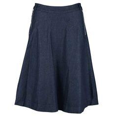 Danefæ nederdel, Maiden Nederdel, Denimblå #superlove #danefae