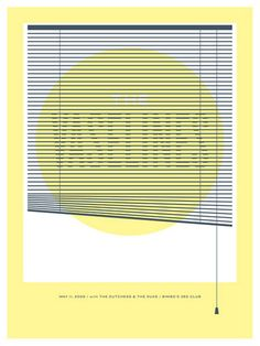 The Vaselines Concert Poster at Bimbo's 365 Club- San Francisco May 2009 hand made two color silkscreen print poster measures 18 inches x 24 inches signed & numbered edition of 200 artist: Jason Munn