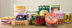 Canned Food Design in Japan | PingMag : Art, Design, Life – from Japan