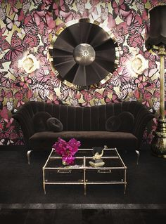 Project @koket  http://www.bykoket.com/guilty-pleasures/upholstery/caprichosa-sofa.php