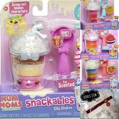 Num Noms Toys, Ariana Perfume, Disney Princess Memes, Best Christmas Recipes, How To Make Smoothies, Cool Toys For Girls, Almond Nails Designs, Watermelon Fruit, Best Pens
